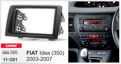 Carav Рамка FIAT Idea (350) 2003-2007 (CARAV 11-281) (фото, вид 2)