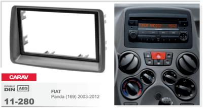 Carav Рамка FIAT Panda (169) 2003-2012 (CARAV 11-280) (фото, вид 3)
