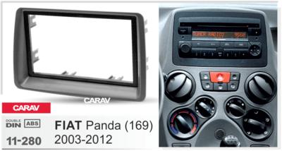 Carav Рамка FIAT Panda (169) 2003-2012 (CARAV 11-280) (фото, вид 4)