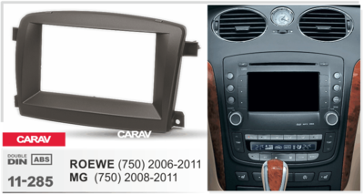 Carav Рамка ROEWE (750) 2006-2011 / MG (750) 2008-2011 (CARAV 11-285) (фото, вид 3)