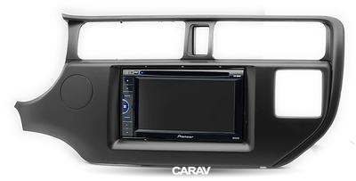 Carav Рамка KIA Rio (UB), K3, Pride 2011-2015 (руль слева / без лампы Airbag / модель для рынка Азии) (CARAV 11-291) (фото, вид 2)