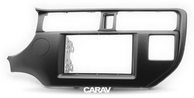 Carav Рамка KIA Rio (UB), K3, Pride 2011-2015 (руль слева / без лампы Airbag / модель для рынка Азии) (CARAV 11-291) (фото, вид 4)