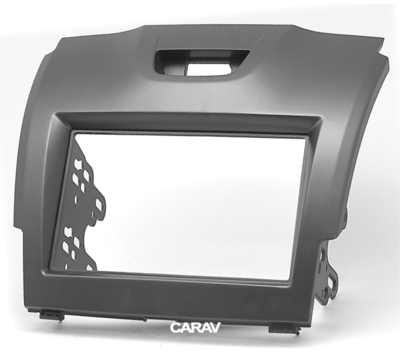 Carav Рамка ISUZU D-Max 2012+; MU-X 2013+ / CHEVROLET TrailBlazer, S-10 2011-2016 / HOLDEN Colorado 2012-2016 (CARAV 11-292) (фото, вид 4)