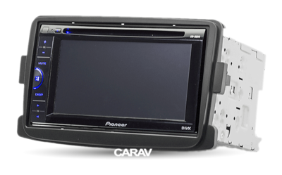 Carav Carav 11-297   2DIN переходная рамка Renault Duster 2010+, Logan 2013+, Sandero 2012+, DACIA Duster 2013+, Logan, Dokker, Lodgy 2012+, LADA XRAY 2015+ (фото, вид 3)
