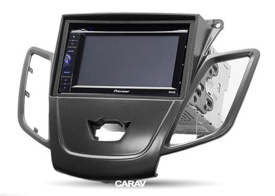 Carav Рамка FORD Fiesta 2008-2017 (без штатного дисплея) (CARAV 11-303) (фото, вид 2)