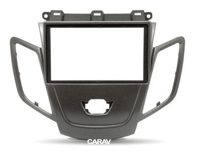 Carav Рамка FORD Fiesta 2008-2017 (без штатного дисплея) (CARAV 11-303) (фото, вид 4)
