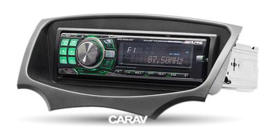 Carav Carav 11-307 | 1DIN переходная рамка Ford Ka 2008-2016 (фото, вид 3)
