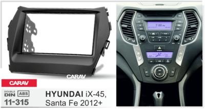 Carav Рамка HYUNDAI Santa Fe, iX-45 2012+ (CARAV 11-315) (фото, вид 4)