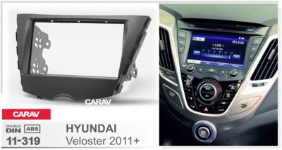 Carav Рамка HYUNDAI Veloster 2011+ (CARAV 11-319) (фото, вид 3)