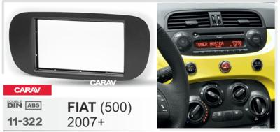 Carav Рамка FIAT (500) 2007+ (CARAV 11-322) (фото, вид 4)