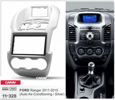 Carav Рамка FORD Ranger 2011-2015 (с климат-контролем) (CARAV 11-328) (фото, вид 1)