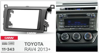 Carav Рамка TOYOTA RAV4 2013+ (CARAV 11-343) (фото, вид 2)