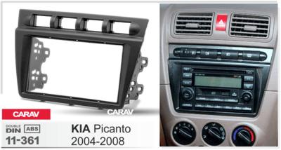 Carav Рамка KIA Picanto 2004-2008 (CARAV 11-361) (фото, вид 4)