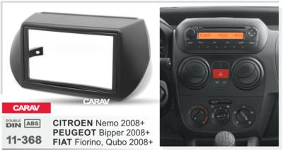 Carav Рамка PEUGEOT Bipper 2008+ / FIAT Fiorino, Qubo 2008+ / CITROEN Nemo 2008+ (CARAV 11-368) (фото, вид 2)