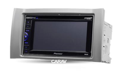 Carav Carav 11-369 | 2DIN переходная рамка Chery Kimo, A1, Face, Nice, S12 2007+, Fresh 2010+; J1 2009+ Dodge Breeze 2008+ DR (2) 2010+ (фото, вид 3)