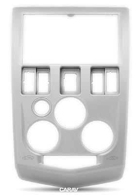 Carav Carav 11-395 | 2DIN переходная рамка Renault Logan 2004-2009,Tondar 90 2007+ Dacia Logan 2004-2008 (фото, вид 4)