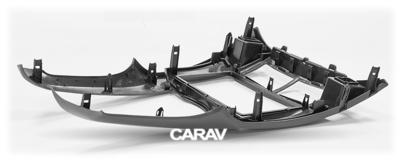 Carav Рамка TOYOTA Yaris,Vitz, Platz 2005-2010 (черная) (CARAV 11-401) (фото, вид 4)