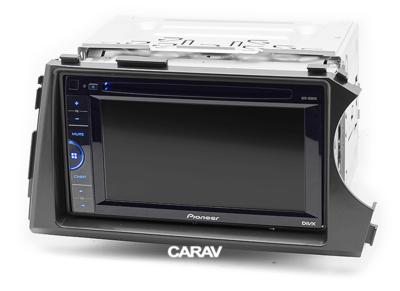 Carav Рамка SSANG YONG Actyon, Kyron 2005-2015 (руль справа) (CARAV 11-400) (фото, вид 3)