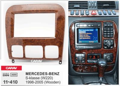 Carav Рамка MERCEDES-BENZ S-klasse (W220) 1998-2005 (CARAV 11-410) (фото, вид 4)