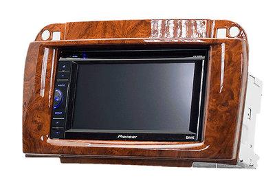 Carav Рамка MERCEDES-BENZ CL-klasse (C215) 2003-2006; S-klasse (W220) 2002-2005 (CARAV 11-409) (фото, вид 2)