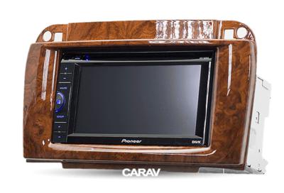 Carav Рамка MERCEDES-BENZ CL-klasse (C215) 2003-2006; S-klasse (W220) 2002-2005 (CARAV 11-409) (фото, вид 5)