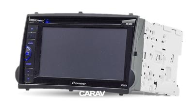 Carav Carav 11-411   2DIN переходная рамка Hyundai H-1, Starex 2007-2015, i800, iMax 2008-2015 (фото, вид 5)