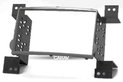 Carav Carav 11-411   2DIN переходная рамка Hyundai H-1, Starex 2007-2015, i800, iMax 2008-2015 (фото, вид 7)