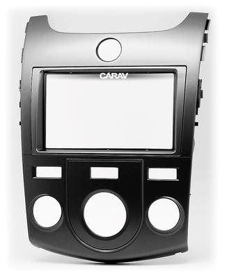 Carav Рамка KIA Cerato (TD), Forte (TD), Naza Forte 2009-2012 (без климат-контроля) (CARAV 11-414) (фото, вид 7)