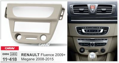 Carav Рамка RENAULT Megane III 2008-2015, Fluence 2009+ (CARAV 11-418) (фото, вид 3)