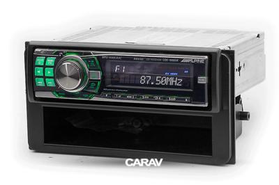 Carav Carav 11-420   1DIN переходная рамка Toyota универсальные боковые вставки со встроенным карманом (фото, вид 4)