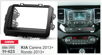 Carav Рамка KIA Carens 2013+; Rondo 2013+ (CARAV 11-423) (фото, вид 2)