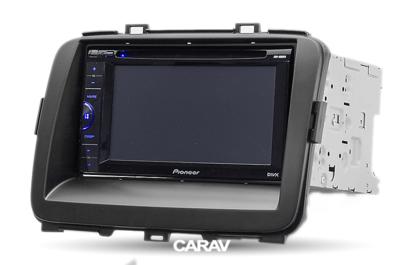 Carav Рамка KIA Carens 2013+; Rondo 2013+ (CARAV 11-423) (фото, вид 3)