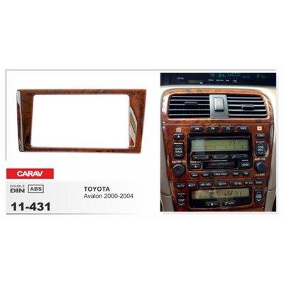Carav Carav 11-431 | 2DIN переходная рамка Toyota Avalon 2000-2004 (фото, вид 1)