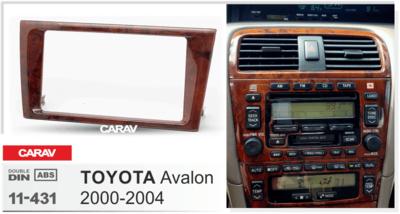 Carav Carav 11-431 | 2DIN переходная рамка Toyota Avalon 2000-2004 (фото, вид 2)