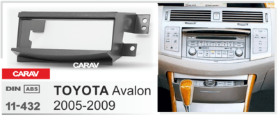 Carav Рамка TOYOTA Avalon 2005-2009 (CARAV 11-432) (фото, вид 2)