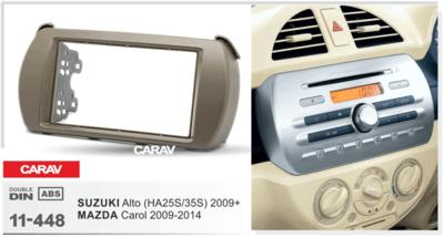 Carav Рамка SUZUKI Alto (HA25) 2009+ / MAZDA Carol 2009-2014 (CARAV 11-448) (фото, вид 2)