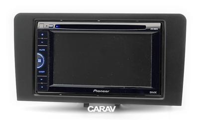 Carav Рамка AUDI A3 (8P / with Symphony OEM-Radio) 2003-2008; A3 (8P/8PA) 2008-2012 (CARAV 11-450) (фото, вид 2)