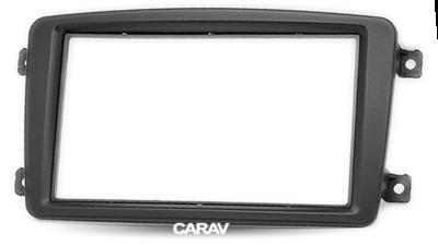 Carav Рамка MERCEDES-BENZ C-klasse (W203) 2000-2004; CLK-klasse (W209) 2002-2005; Viano (W639) 2003-2008; Vito (W639) 2003-2006 (CARAV 11-459) (фото, вид 3)