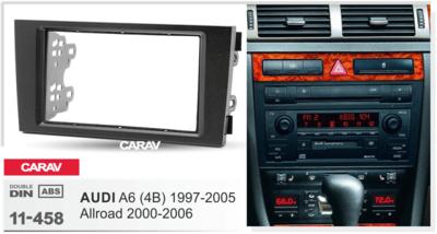 Carav Carav 11-458 | 2DIN переходная рамка Audi A6 (4B) 1997-2004, ALLROAD 2000-2006 (фото, вид 2)