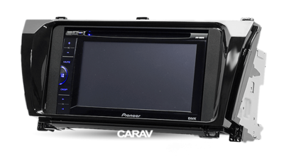 Carav Carav 11-461 | 2DIN переходная рамка Toyota Corolla 2013-2017 (руль слева) (фото, вид 2)