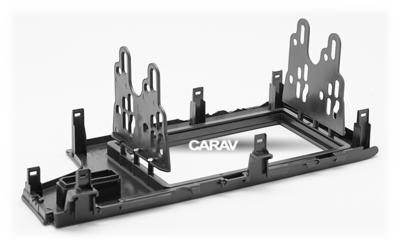 Carav Рамка HONDA Fit, Jazz 2013+ (только для а/м без сигнальной лампы Air-Bag / руль слева) (CARAV 11-468) (фото, вид 4)