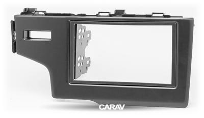 Carav Рамка HONDA Fit, Jazz 2013+ (только для а/м без сигнальной лампы Air-Bag / руль слева) (CARAV 11-468) (фото, вид 5)