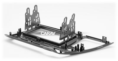 Carav Carav 11-467 | 2DIN переходная рамка Honda Civic 2013-2017 (седан, руль слева, черный глянец) (фото, вид 3)