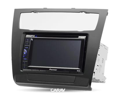 Carav Рамка BMW 1-Series (E81, 82, 87, 88) 2007-2011 (с климат-контролем) (CARAV 11-481) (фото, вид 2)