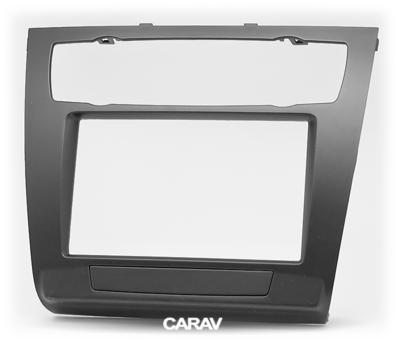 Carav Рамка BMW 1-Series (E81, 82, 87, 88) 2007-2011 (с климат-контролем) (CARAV 11-481) (фото, вид 4)