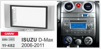 Carav Рамка ISUZU D-Max 2006-2011 (CARAV 11-482) (фото, вид 1)