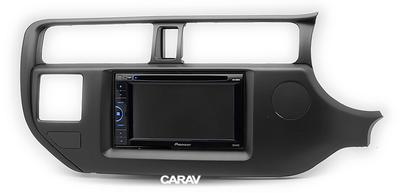 Carav Рамка KIA Rio (UB), K3, Pride 2011-2015 (руль справа) (CARAV 11-489) (фото, вид 3)