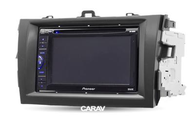 Carav Carav 11-505   2DIN переходная рамка Toyota Corolla 2007-2013 (фото, вид 3)