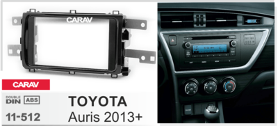Carav Рамка TOYOTA Auris 2013+ (CARAV 11-512) (фото, вид 2)