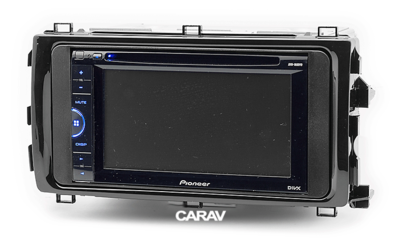Carav Рамка TOYOTA Auris 2013+ (CARAV 11-512) (фото, вид 3)